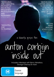 Anton Corbijn: Inside Out on DVD