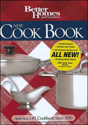 "New Cookbook by ""Better Homes and Gardens"""