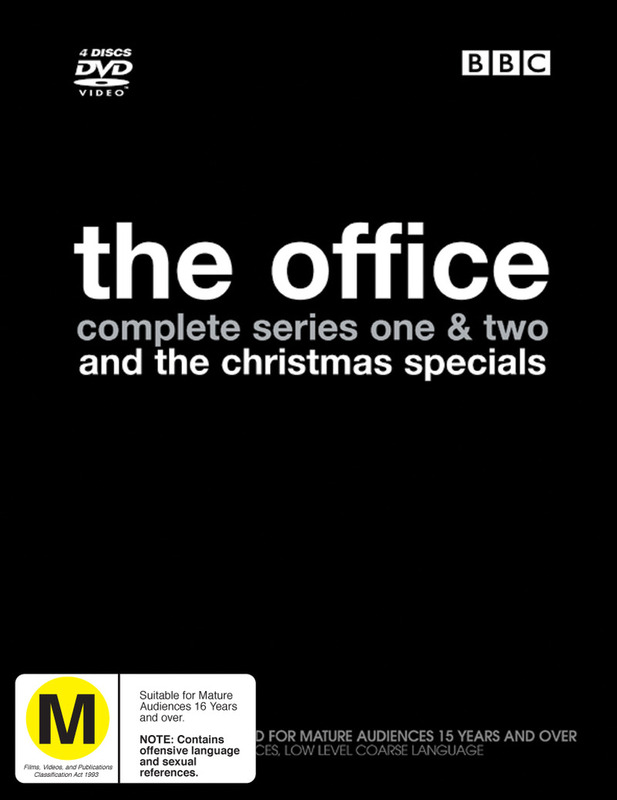 The Office - Complete Series 1 & 2 And The Christmas Specials (4 Disc Box Set) on DVD