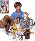 Star Wars Blueprints: Droids on Tatooine Desert Papercraft
