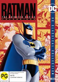 Batman: The Animated Series - Volume One DVD
