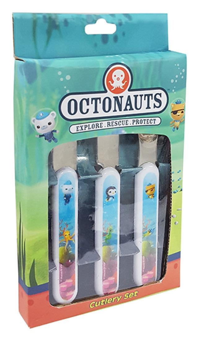 Octonauts - 3pc Cutlery Set image