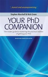 Your Phd Companion 3rd Edition by Stephen Marshall image