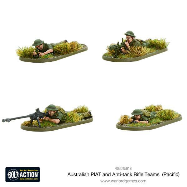 Australian Piat & AT Rifle Teams (Pacific)