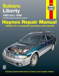 Subaru Liberty (89 - 98) by Tim Imhoff