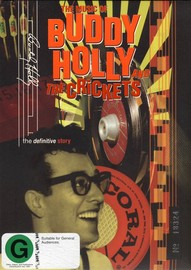 Buddy Holly & The Crickets: The Definitive Story on DVD image