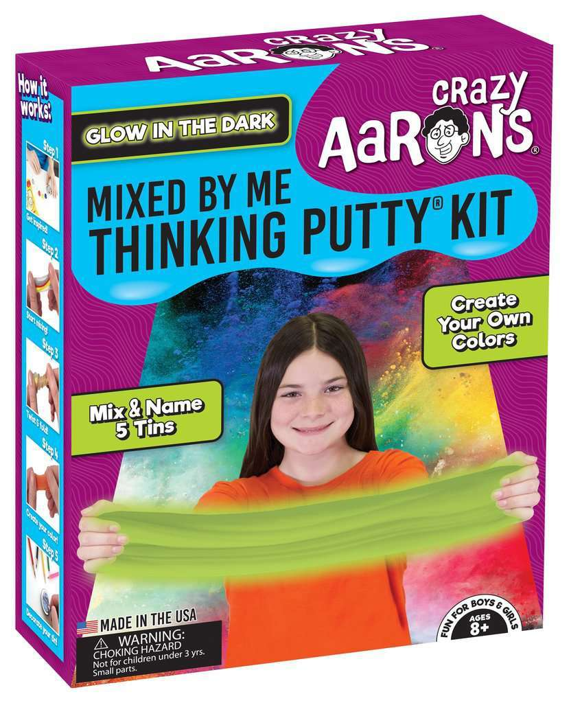 Crazy Aarons Thinking Putty: Mixed by Me Putty Kit image