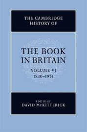 The Cambridge History of the Book in Britain 7 Volume Hardback Set: Volume 6