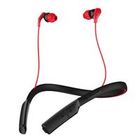 Skullcandy Method Wireless Earbuds w/mic - Black/Red/Red