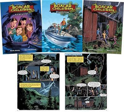 The Boxcar Children Graphic Novels Set 1 by Gertrude Chandler Warner