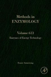 Enzymes of Energy Technology: Volume 613 image