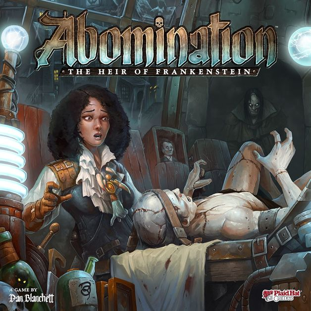Abomination: The Heir of Frankenstein - Monster Building Game