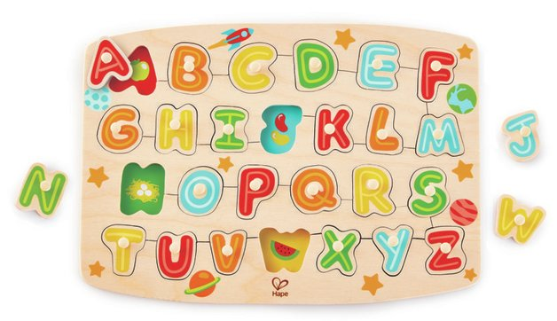 Hape: Alphabet Peg Puzzle