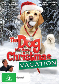 The Dog Who Saved Christmas Vacation on DVD