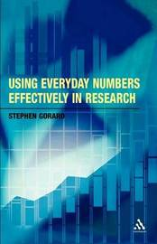 Using Everyday Numbers Effectively in Research by Stephen Gorard image