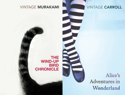 """Vintage Fantasy: """"Alice's Adventures in Wonderland"""", """"The Wind-up Bird Chronicle"""" by Lewis Carroll"""
