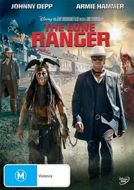 The Lone Ranger on DVD