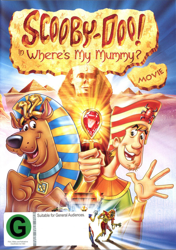 Scooby-Doo! - Where's My Mummy? Movie on DVD