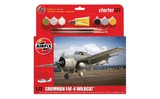 Airfix Grumman F4F - 4 Medium Starter Set