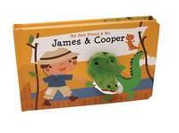 James & Cooper Finger Puppet Book by Mariska Vermeulen