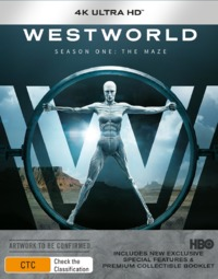Westworld - Season One (4K UHD + Blu-ray) on UHD Blu-ray image