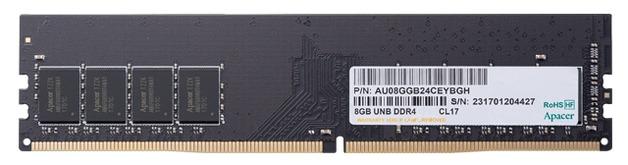 1x8GB Apacer 2666MHz DDR4 RAM