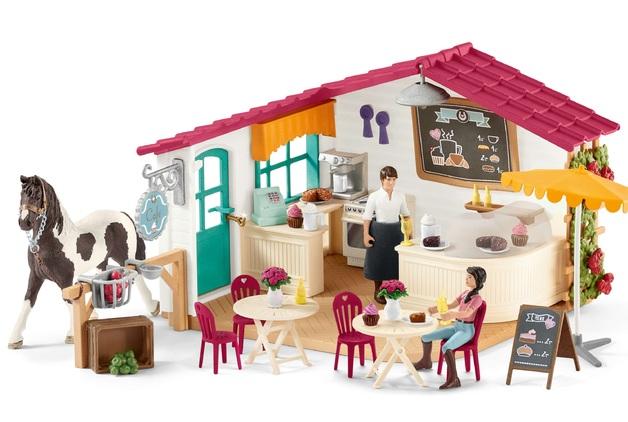 Schleich: Hazelwood - Rider Cafe Playset