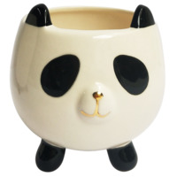 Planter Pets: Panda on Legs - (11cm)