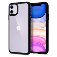 Spigen: iPhone 11 Ultra Hybrid Case - Matte Black