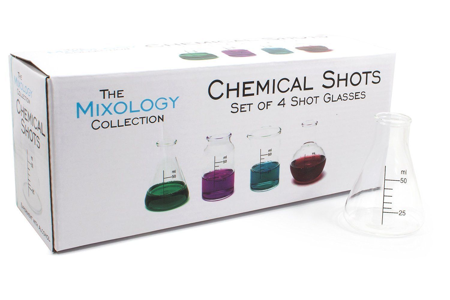 Mixology Chemical Shot Glasses - 50ml (Set of 4) image