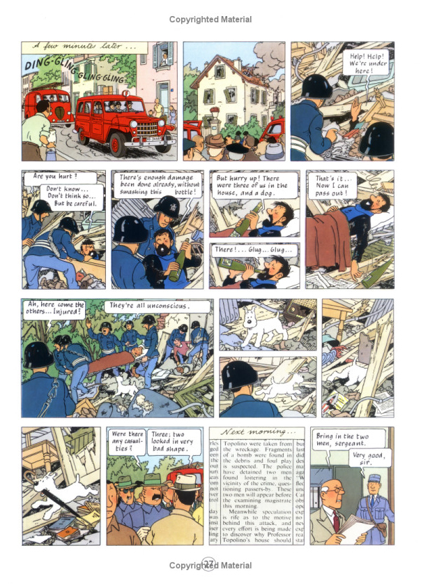 The Calculus Affair (The Adventures of Tintin #18) by Herge image