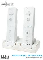 Powerwave Controller Docking Station for Nintendo Wii