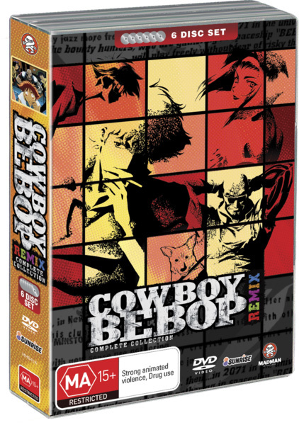 Cowboy Bebop Remix - Complete Sessions on DVD image