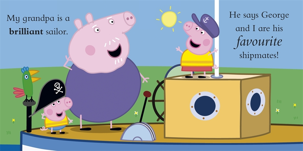 Peppa Pig: My Grandpa by Peppa Pig image