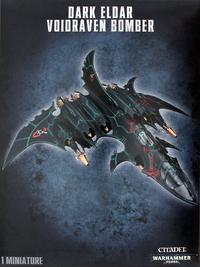 Warhammer 40,000 Dark Eldar Void Raven Bomber
