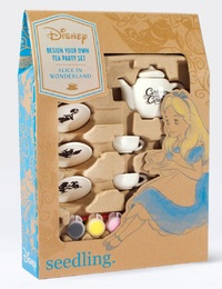 Disney's Alice In Wonderland: Design Your Own Tea Party Set - DIY Kit