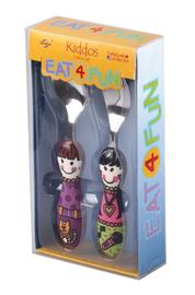 Eat4Fun Kiddos Cutlery Set (Elle & Julie)