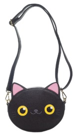 Loungefly Black Cat Face Crossbody