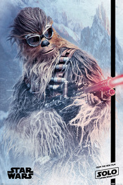Star Wars Story Maxi Poster - Chewie Blaster (793)