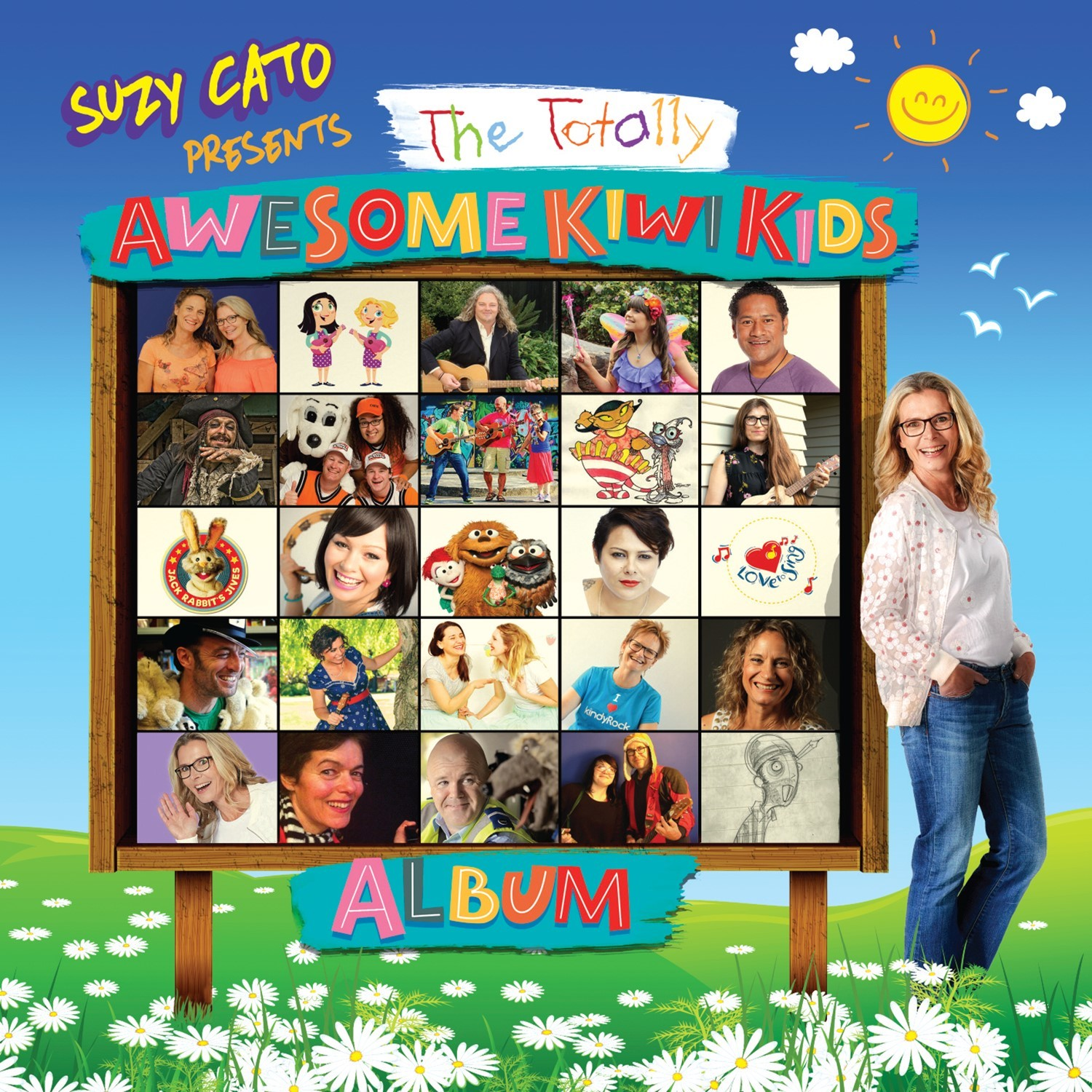 Suzy Cato Presents The Totally Awesome Kiwi Kids Album by Various image