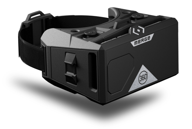 Merge VR: Mobile AR/VR Headset - (Moon Grey)