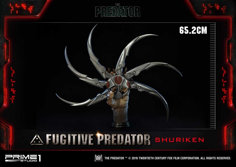 Predator: Fugitive Predator Shuriken - 1:1 Scale Replica Bust