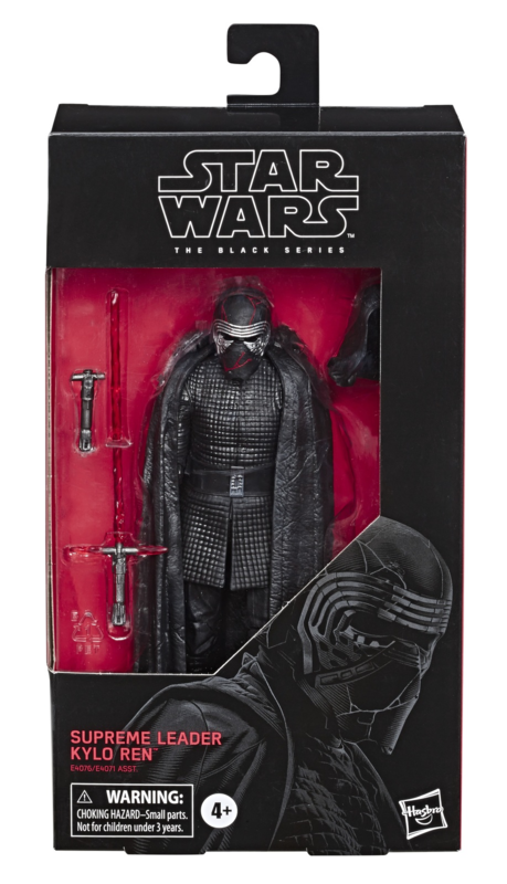 "Star Wars The Black Series: Supreme Leader Kylo Ren - 6"" Action Figure"