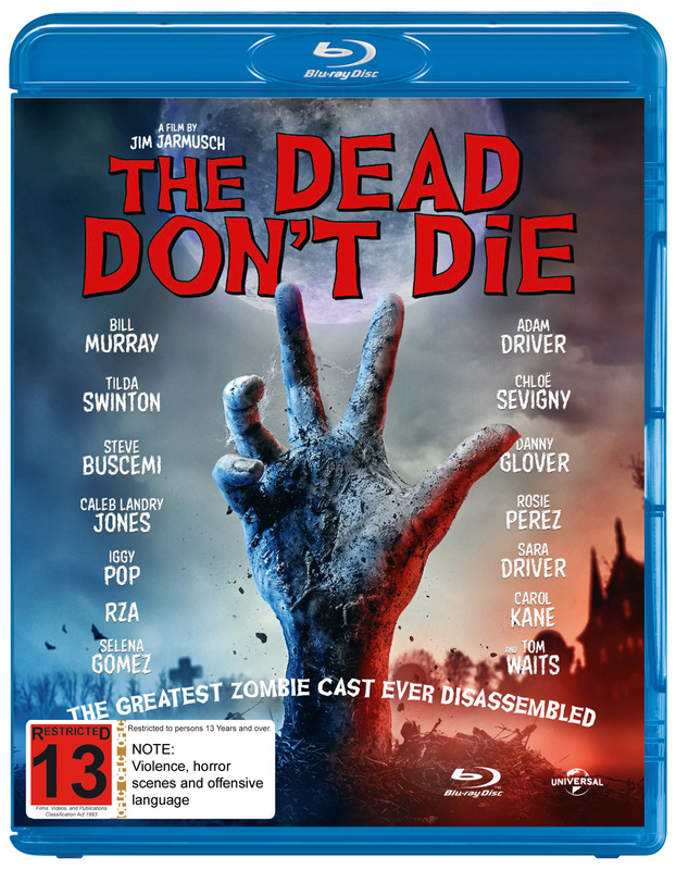 The Dead Don't Die on Blu-ray