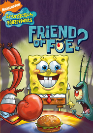 SpongeBob Squarepants - Friend Or Foe? on DVD image