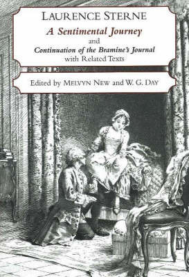 A Sentimental Journey Through France and Italy and Continuation of the Bramine's Journal by Laurence Sterne