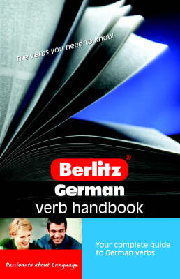German Verb Berlitz Handbook by Joy Saunders