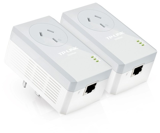 TP-Link AV600 Passthrough Powerline Adapter Starter Kit