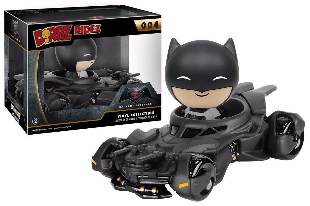 Batman vs Superman: Batmobile Dorbz Ridez Vinyl Figure image