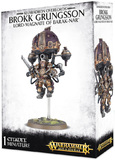 Warhammer Age of Sigmar Kharadron Overlords: Brokk Grungsson Lord-Magnate of Barak-Nar